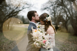 Winter Wedding at Maple Grove Estate