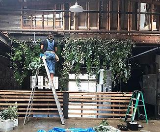 Just Hangin'! #greenerylove #thestandard