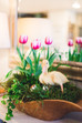 April Flower of the Month: Tulips   + Easter Centerpieces with the Kids