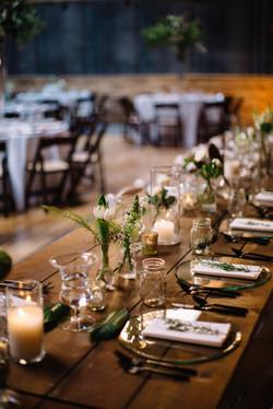 Farm Table Reception