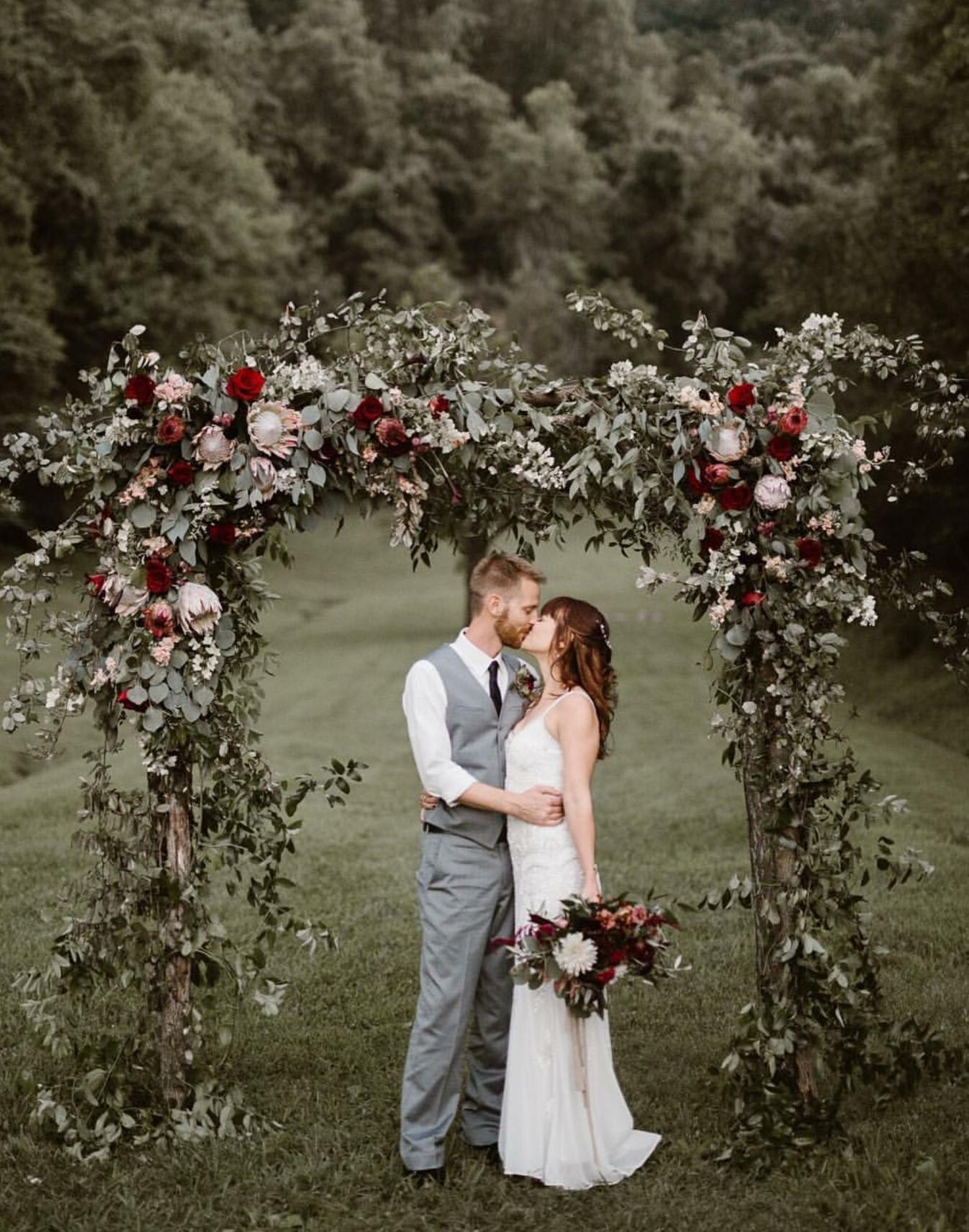 Moody Fall Wedding