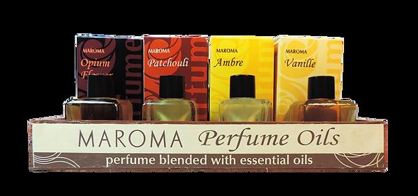 Espositore profumi in olio Maroma