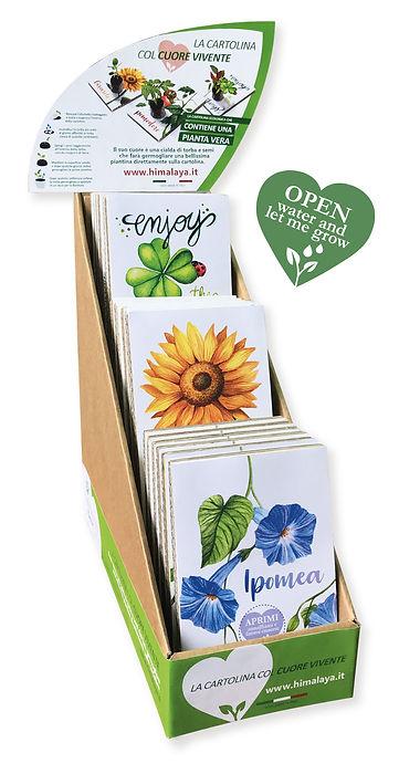 Espositore Cartoline Ecologiche