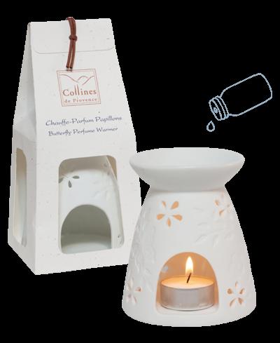 Collines de Provence - Bruciatore in gres Farfalle