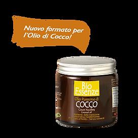 Olio di cocco barattolo BioEssenze