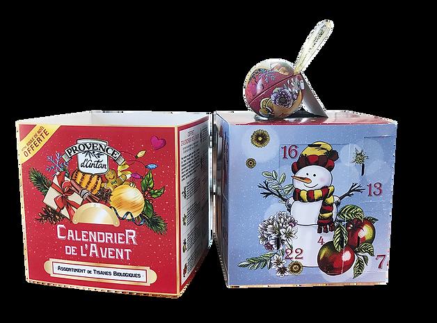 Araquelle - Provence d'Antan - Mon Casier Edizione calenario dell'Avvento