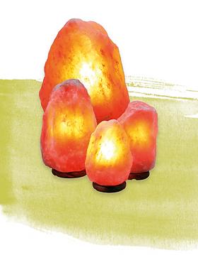 Mineral line lampade di sale