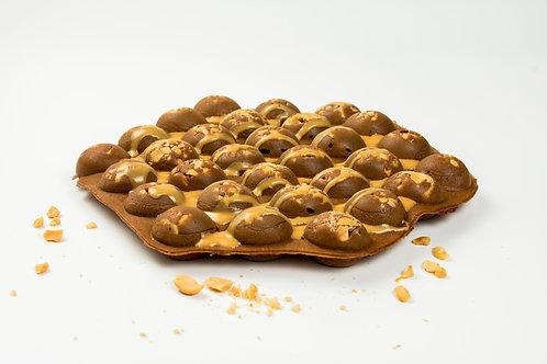 PeanutButter Chocolate Waffle