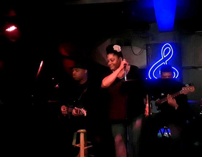 """""""Billie with a Twist"""" w/DWill & Alan Harris @ The Jazz Estate"""