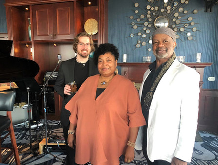 MD Trio @ Blu in the Pfister Hotel w/ Ben Titus & Greg Adams