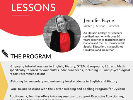 Project updates and my new online tutoring business!