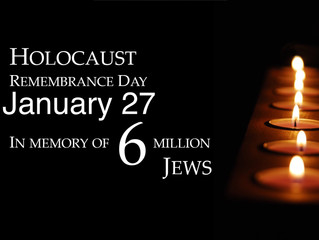 Today Is International Holocaust Remembrance Day