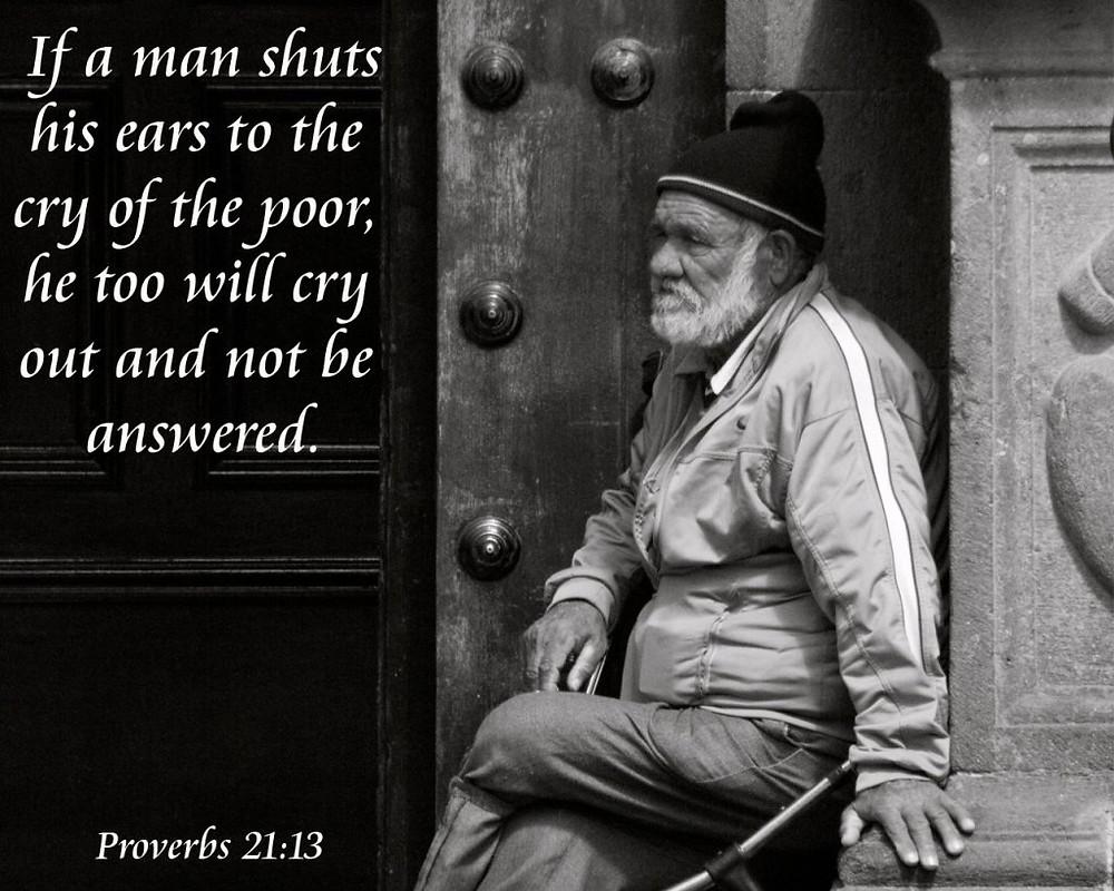 Proverbs 21:13