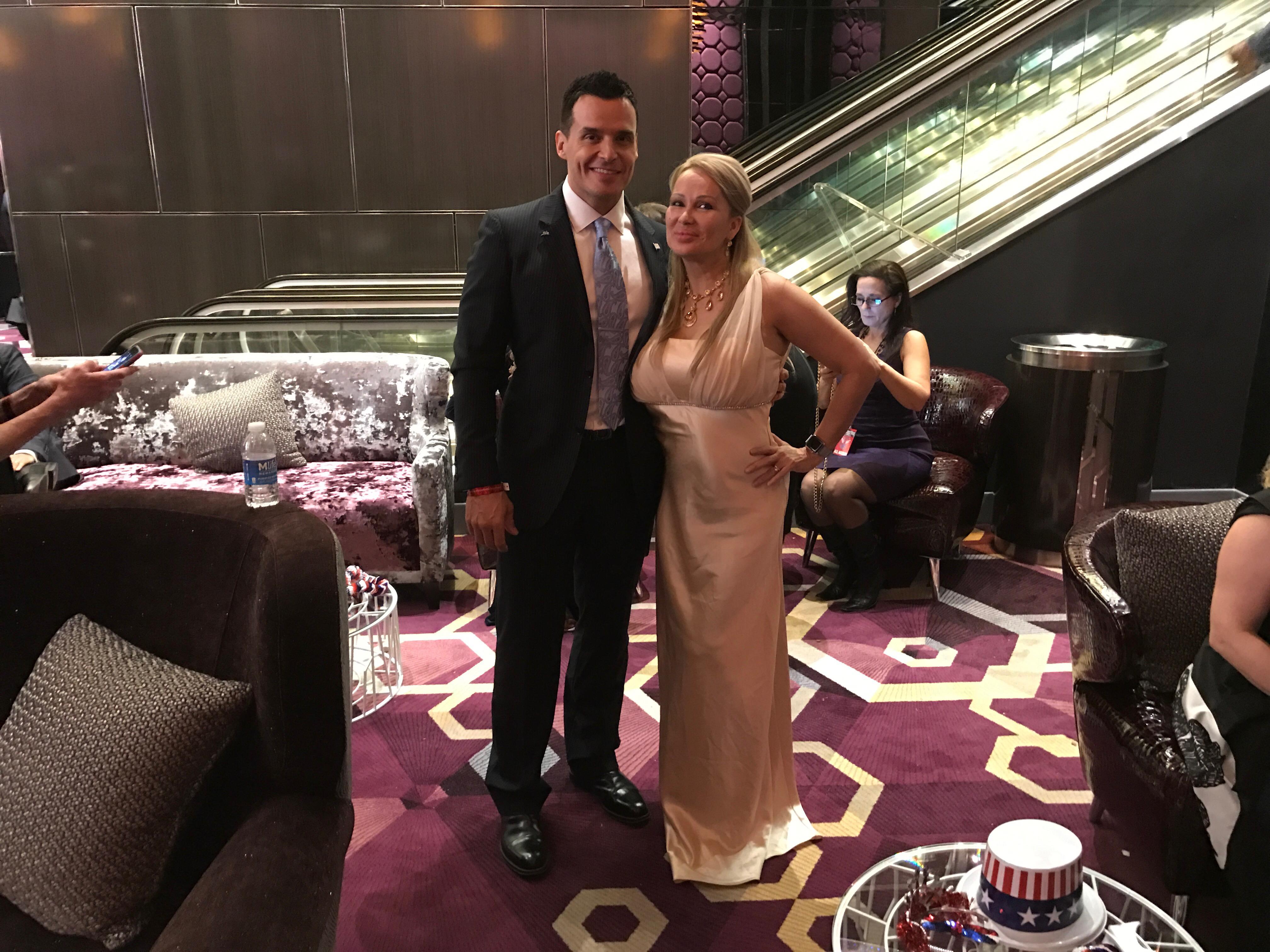 Antonio Sabato Jr and Lisa Christiansen