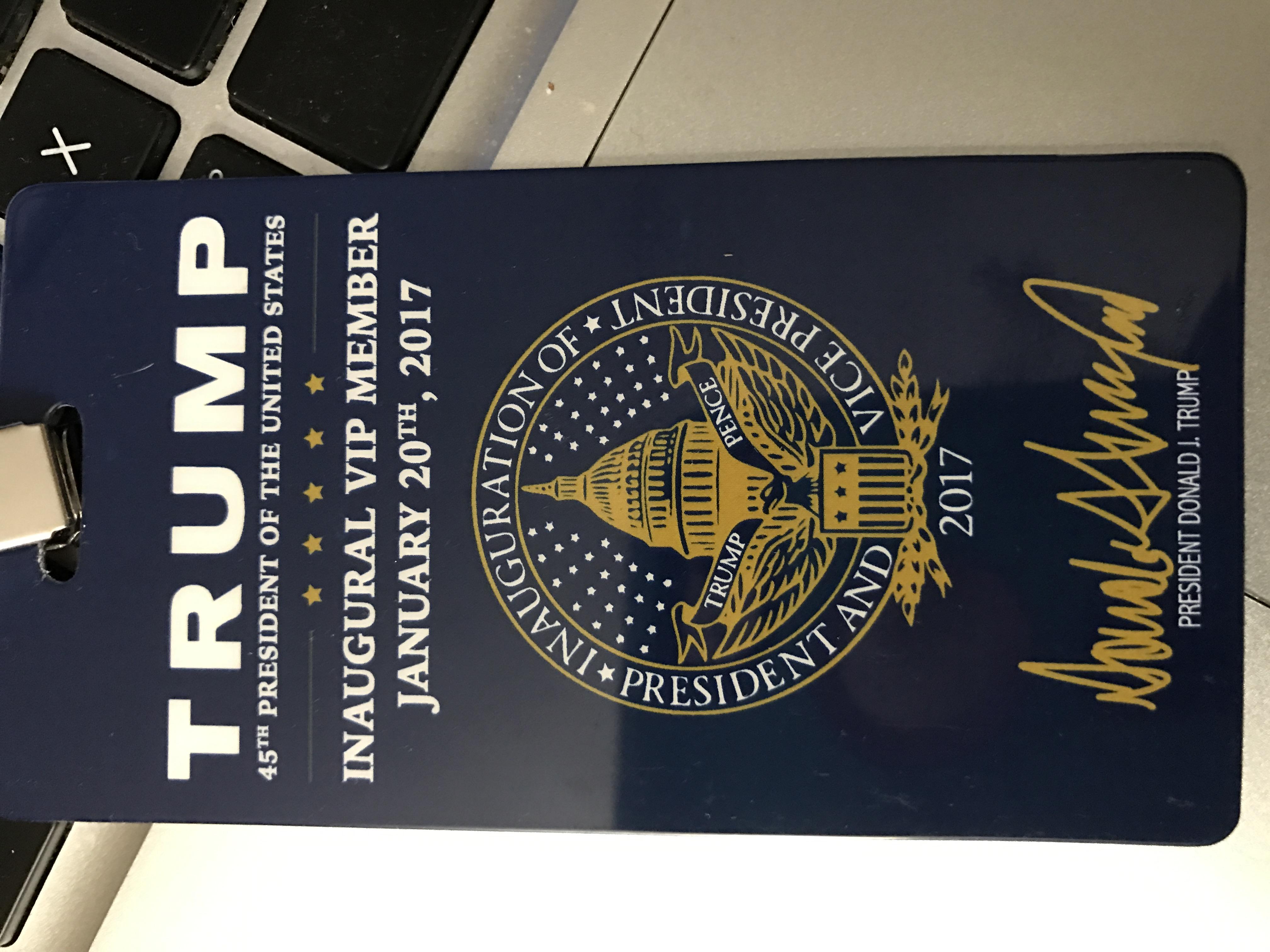 Lisa Christiansen - Donald Trump - InaugurationIMG_1252