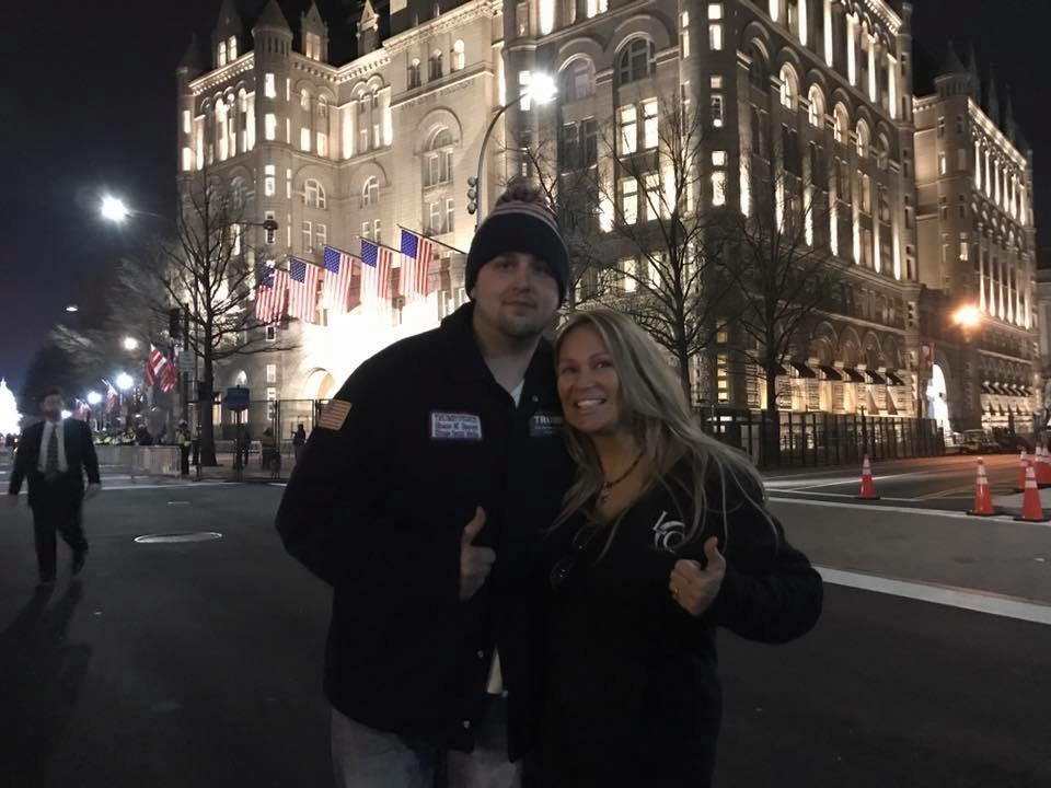 Lisa Christiansen - Donald Trump - InaugurationIMG_0969