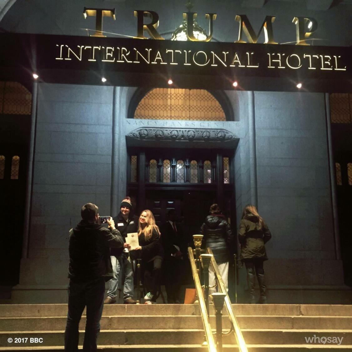 Lisa Christiansen - Donald Trump - InaugurationIMG_1337