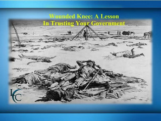 """Wounded Knee: """"Just Hand 'em Over and No One Gets Hurt"""""""