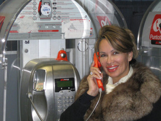 Lisa Christiansen In Italy