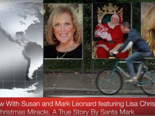 The Christmas Miracle, a True Story by Santa Mark Leonard