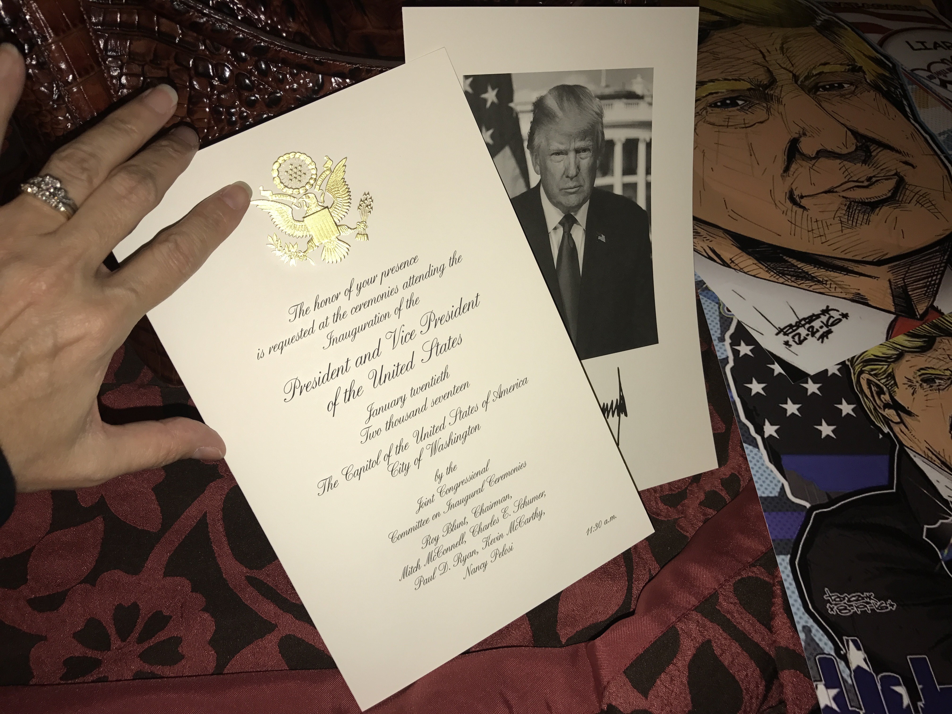 Lisa Christiansen - Donald Trump - InaugurationIMG_0961