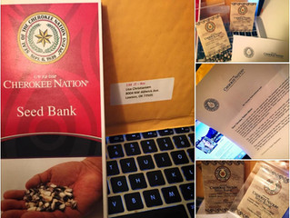 Cherokee Nation Gives Lisa Christiansen Priceless Rare Heirloom Seeds