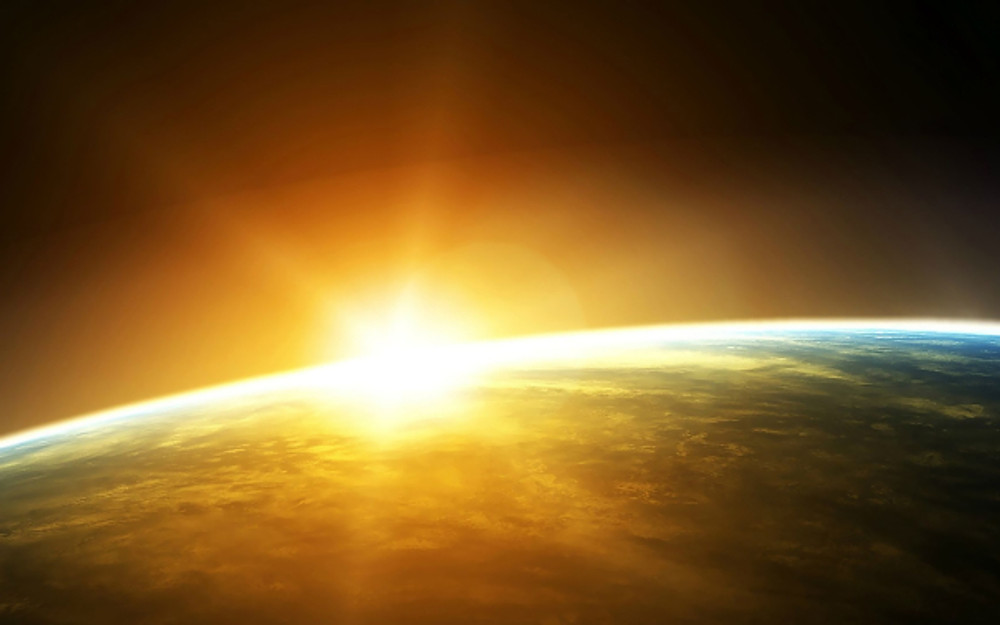 Sunrise-From-Space