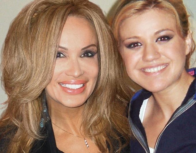 Kelly Clarkson and Lisa Christiansen