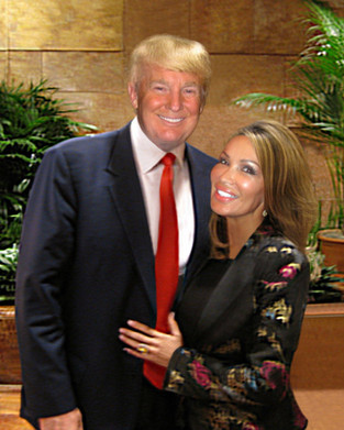 Donald Trump and Lisa Christiansen