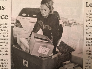 15,000.00 In Bibles, Books and Personal Needs Given To The Comanche County Domestic Violence Shelter