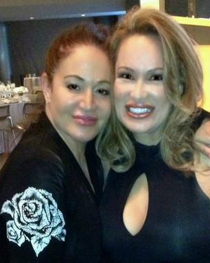Lisa Christiansen with Nadine Christine Hamdan on Getty Images