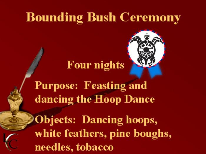 bounding-bush-ceremony
