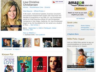 Lisa Christiansen: Author, Producer, Human Development Expert On IMDb