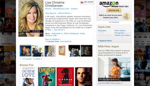 Lisa Christiansen Actress and Human Developement Expert