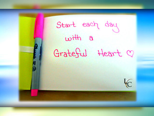10 Reasons for A 10 Week Gratitude Journey