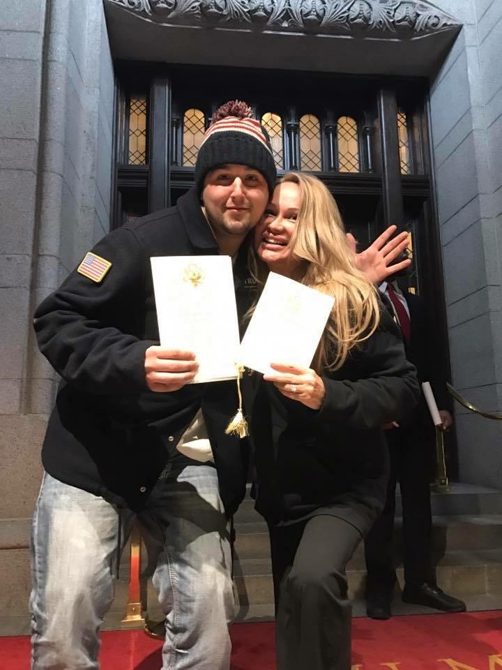 Lisa Christiansen - Donald Trump - InaugurationIMG_0967