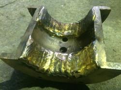 Наплавка бронзового вкладыша