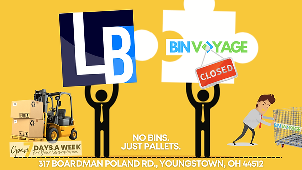 Bin Voyage to Liquidation Brokers transi