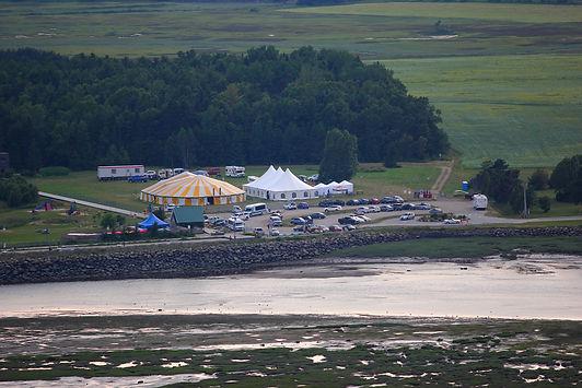 Le cirque au Boisé du Quai de Baie-St-Paul