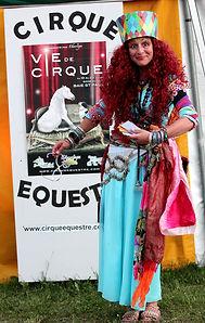 Colores Mystère au cirque
