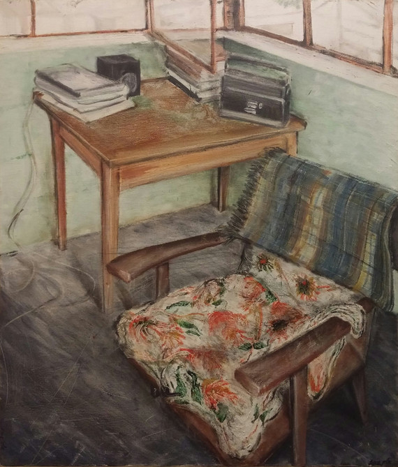 In Michal's Studio