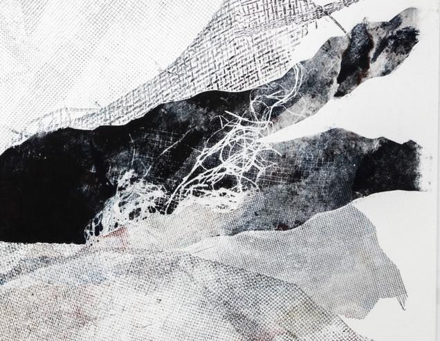 Black crystal detail