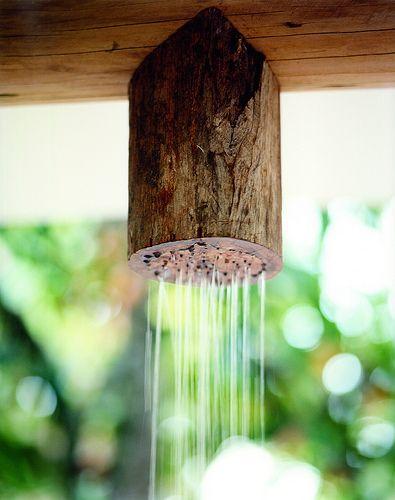 Chuveiro tronco