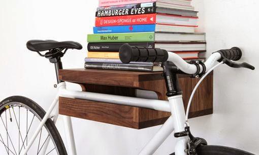 prateleira porta bicicleta