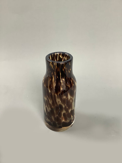 Leopard Bottleneck Vase