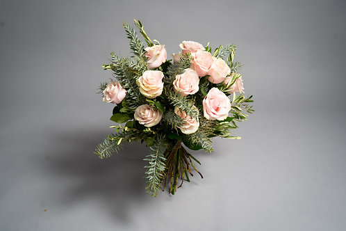 Pink Mondial Rose Bouquet