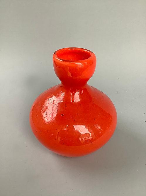 Fluted Bowl Bud Vase