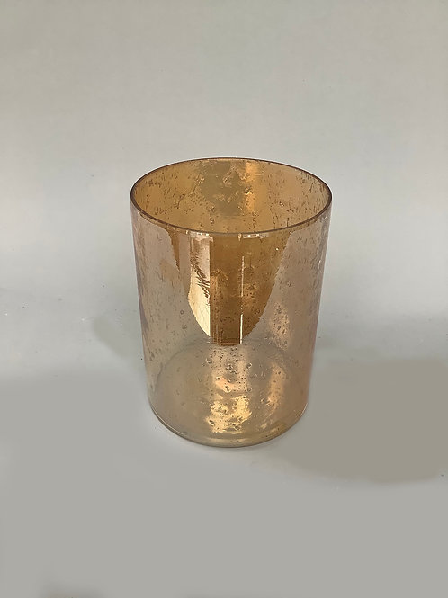 Pearl Cylinder Bubble Glass
