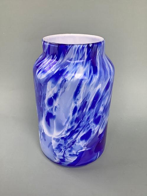 Marble Effect Bottleneck Vase