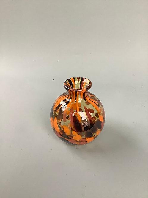 Leopard Bowl Bud Vase